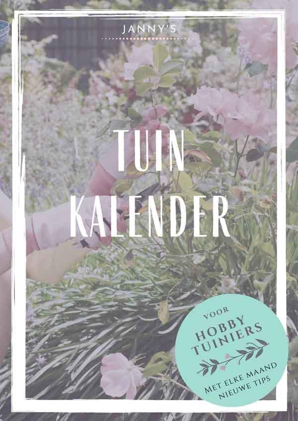 Janny's Tuinkalender